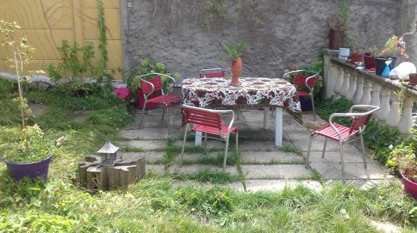 terrasse jardin ceramique
